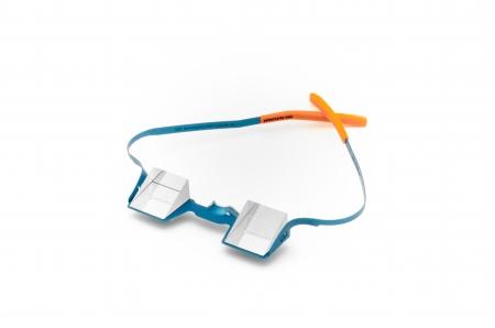 Die Sicherungsbrille Blue